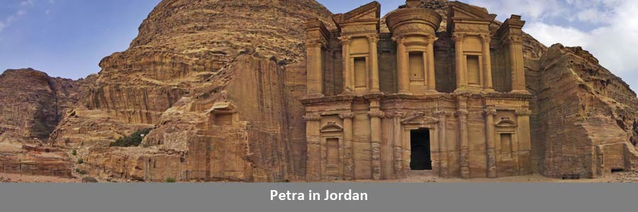 Petra in Jordan Travel
